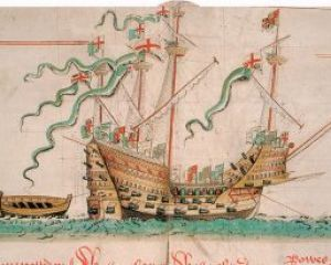 10 August 1512 - The Mary Rose's first b