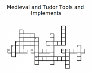 Medieval and Tudor Tools and Implements