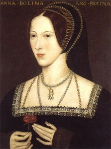 Anne Boleyn, one of the children of Thomas and Elizabeth Boleyn