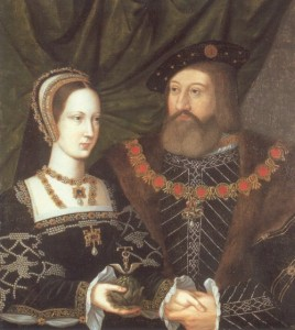 Mary Tudor, Queen of France, and Charles Brandon, Duke of Suffolk.