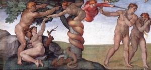 The Fall, Michelangelo