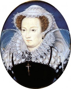 Mary, Queen of Scots, in captivity by Nicholas Hilliard