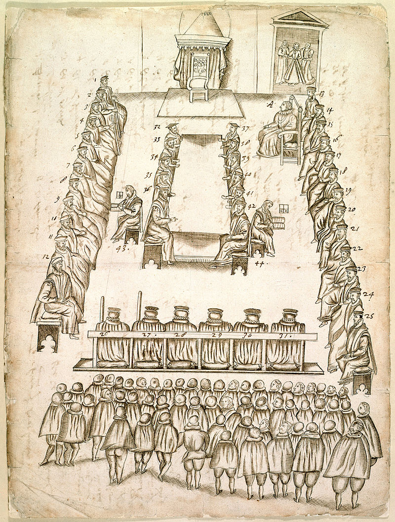 14 October 1586 Trial Of Mary Queen Of Scots The Tudor Society
