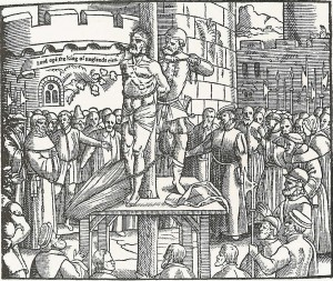 William Tyndale's execution