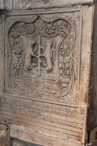 The Dudley Carving in the Beauchamp Tower