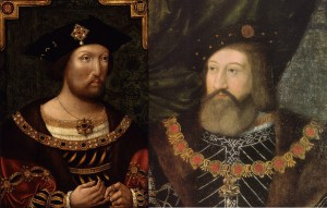 Henry VIII and Charles Brandon