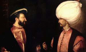 Francis I and Suleiman the Magnificent by Titian