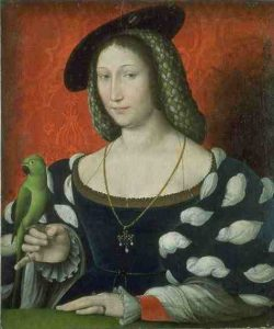 Marguerite of Navarre by Jean Clouet